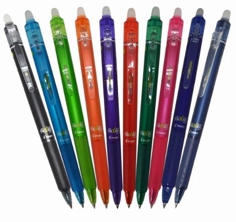 Bút bi xóa được của Nhật
