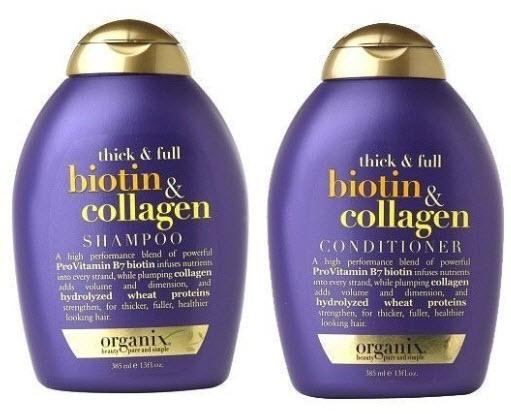 Dầu gội Biotin & Collagen OGX