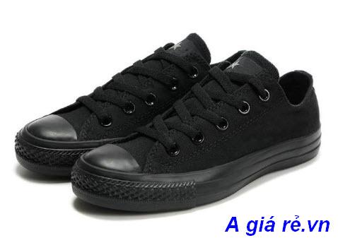 Giày bata nữ đen