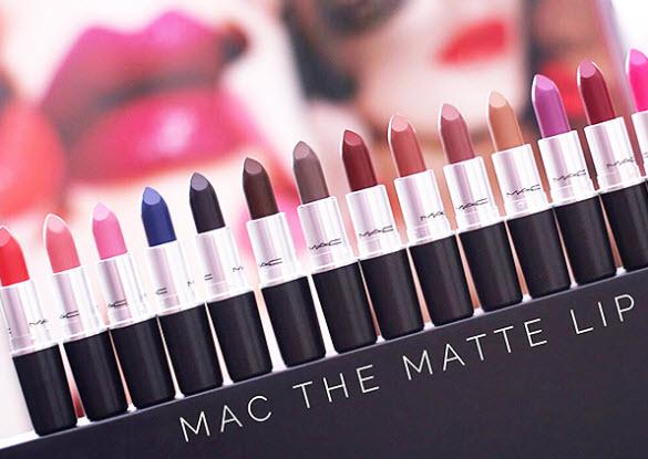 Bảng màu son Mac Ampl