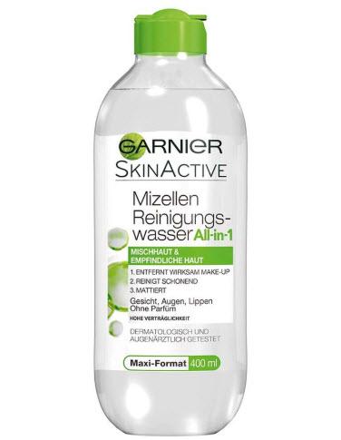 Tẩy trang Garnier xanh lá