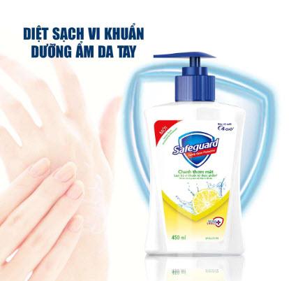 Nước rửa tay Safeguard 500ml