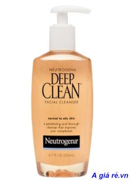 Review Sữa rửa mặt Neutrogena Deep Clean