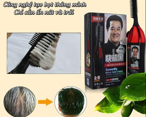 Lược nhuộm tóc hàn quốc