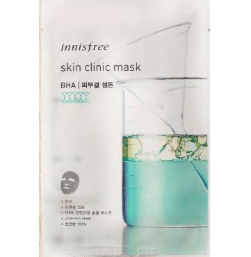 Mặt nạ giấy Innisfree Skin Clinic Mask BHA