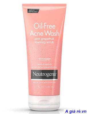 Sữa rửa mặt Neutrogena hồng Oil-Free