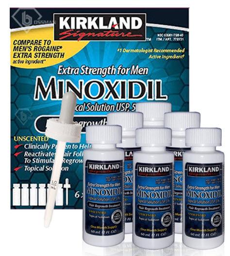 Thuốc mọc râu Minoxidil