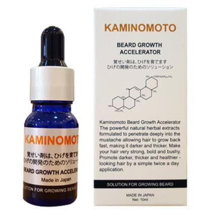 Cách sử dụng thuốc mọc râu kaminomoto