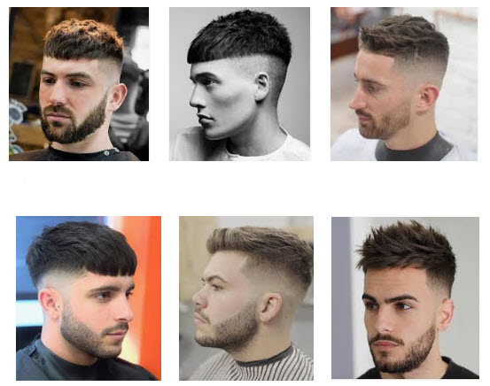 Kiểu tóc nam đẹp undercut mái ngắn