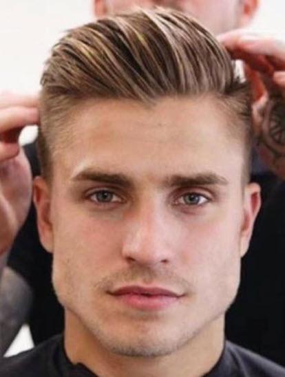 Kiểu tóc undercut cho nam mặt vuông