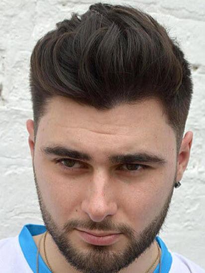 Kiểu tóc undercut mặt tròn