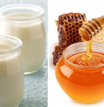 Trị nám bằng sữa chua và mật ong