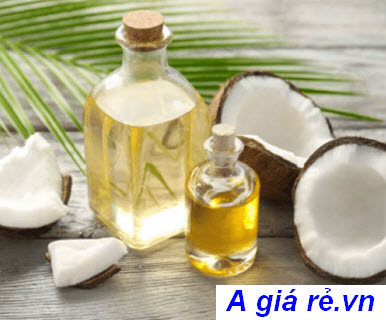 Phục hồi tóc bằng dầu dừa