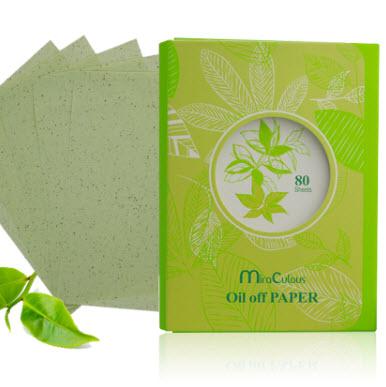 Giấy thấm dầu tinh chất trà xanh