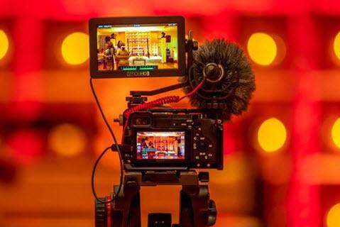 máy quay phim canon