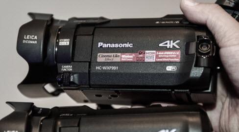 máy quay phim cầm tay panasonic