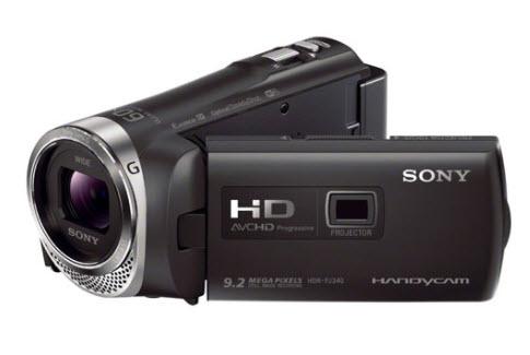 Máy quay phim cầm tay sony
