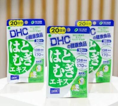 Sản phẩm viên trắng da DHC của Nhật