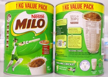 Sữa Milo Úc và Việt Nam