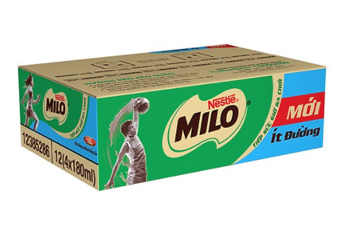 Thùng sữa Milo