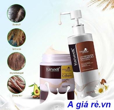 Dầu ủ tóc Collagen
