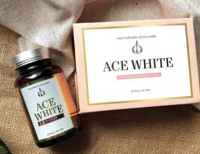 Viên uống trắng da Ace White