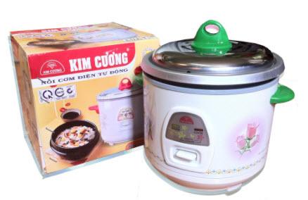 Nồi cơm điện mini Kim Cương