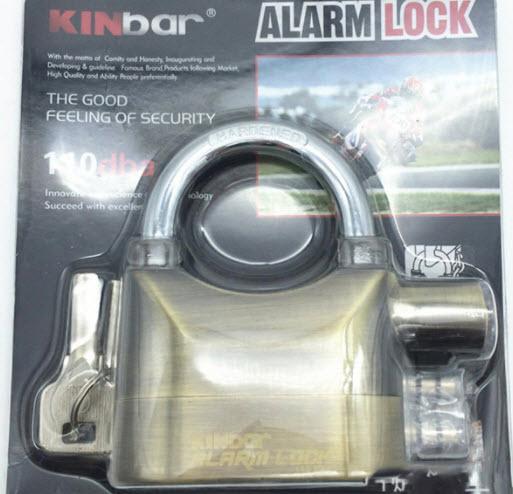 Khóa chống trộm Kinbar chính hãng có tốt không?