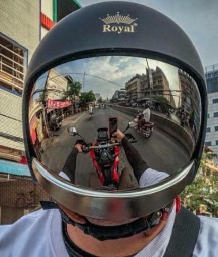 Nón bảo hiểm Royal m139