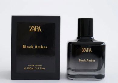Nước hoa Zara Black Amber