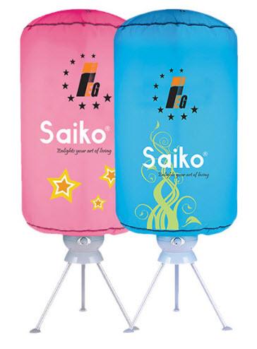 Review tủ sấy áo quần Saiko