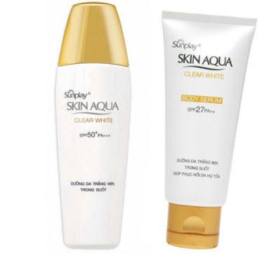 Kem chống nắng Sunplay Skin Aqua