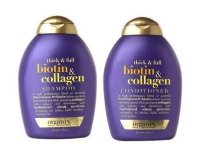 Dầu gội thị rụng tóc Biotin Collagen