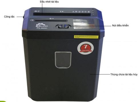 máy hủy tài liệu nào tốt