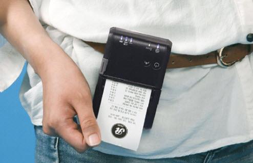máy in hóa đơn cầm tay pos