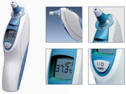 nhiệt kế braun thermoscan 3