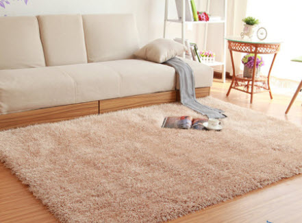 Thảm lông xù trải sàn
