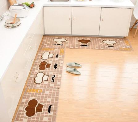 Thảm trải sàn do cho phòng bếp