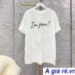 Áo phông nữ trắng