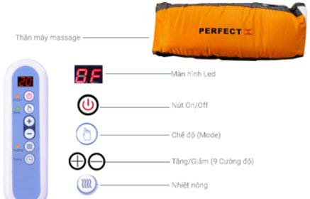 sử dụng máy massage bụng bị ngứa