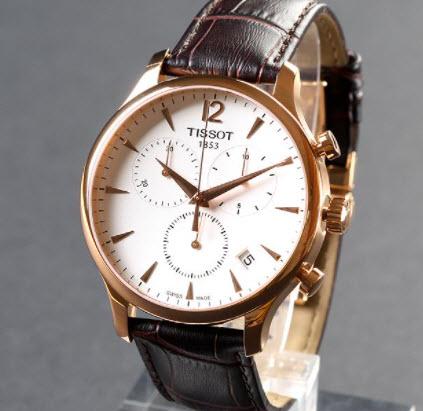 Đồng hồ Tissot dây da nam