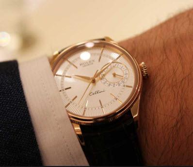 Đồng hồ thụy sỹ Rolex dây da