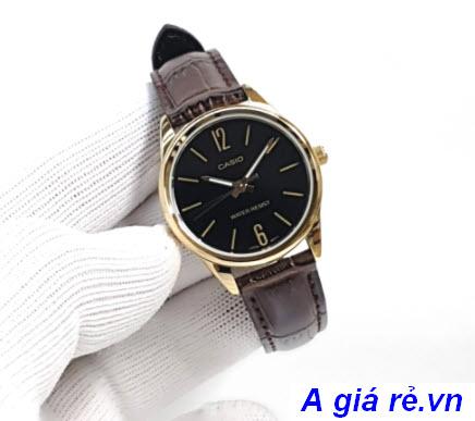 Đồng hồ nữ Casio dây da