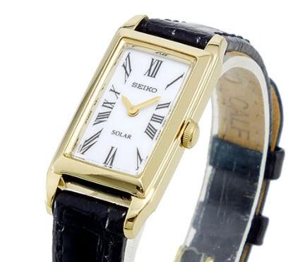 Đồng hồ dây da Seiko