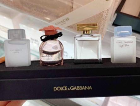 Set nước hoa hoa Dolce Gabbana