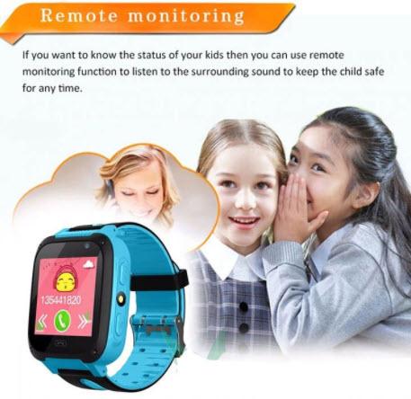 Ưu điểm của đồng hồ định vị trẻ em GPS