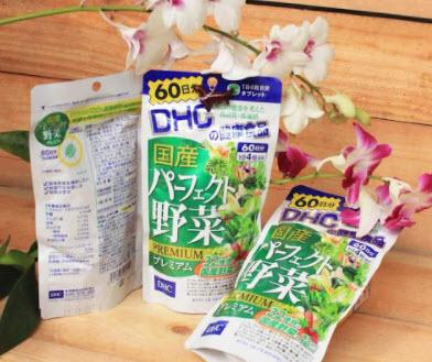 Viên uống rau củ DHC Premium