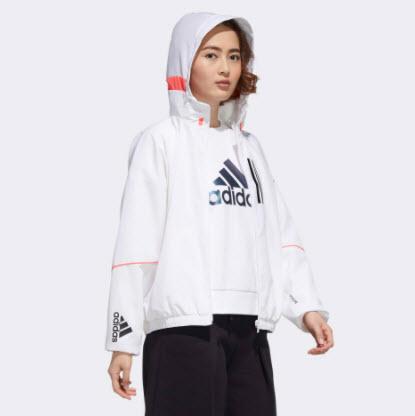 Áo khoác gió Adidas có mũ