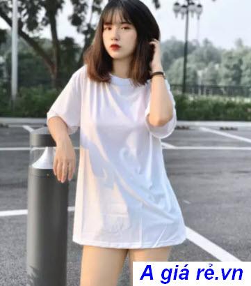 Áo thu trắng nữ trơn