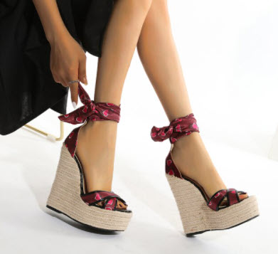 Giày đế xuồng nữ 15cm